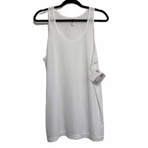 American Apparel White Sublimation Tank
